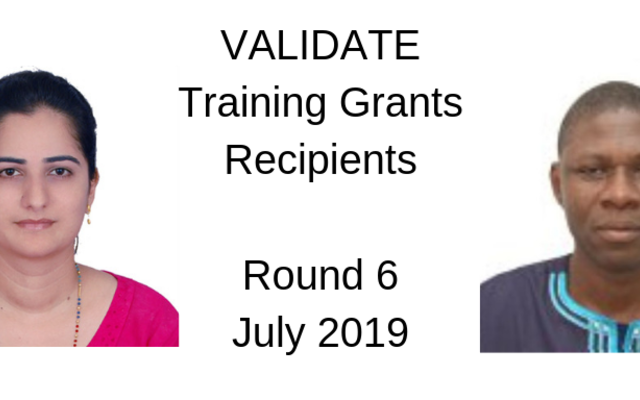 Training Grant Recipients Round 6