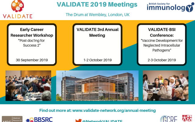 VALIDATE 2019 Events