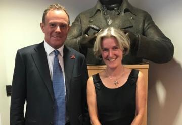 Prof Helen McShane & Nick Herbert MP