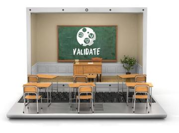validate online school  small