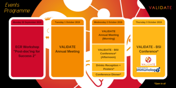 VALIDATE Annual Meeting - Programme Summary