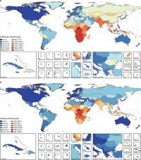 age standardised tuberculosis incidence a and mortality b in hiv negative individuals