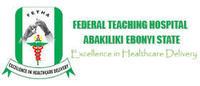 Federal Teaching Hospital Abakaliki Ebonyi State Nigeria logo